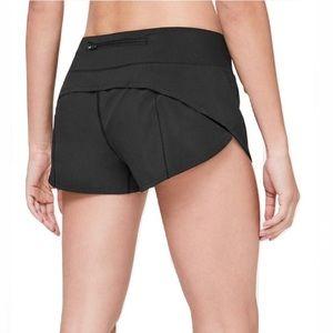 Lululemon Run Speed Shorts Black